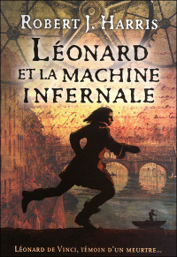 French cover for Leonardo and the Death Machine